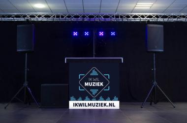 Drive-in show Banner Middel nieuw